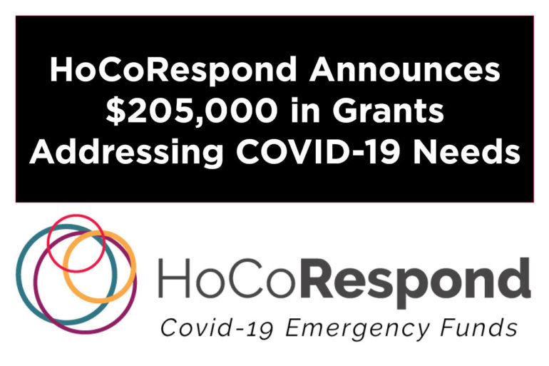 Howard County Funders Announce $205,000 in COVID-19 Emergency Grants