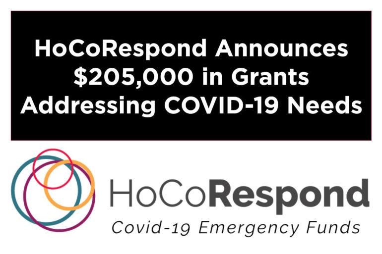 Howard County Funders Announce $205,000 in COVID-19 Emergency Grants