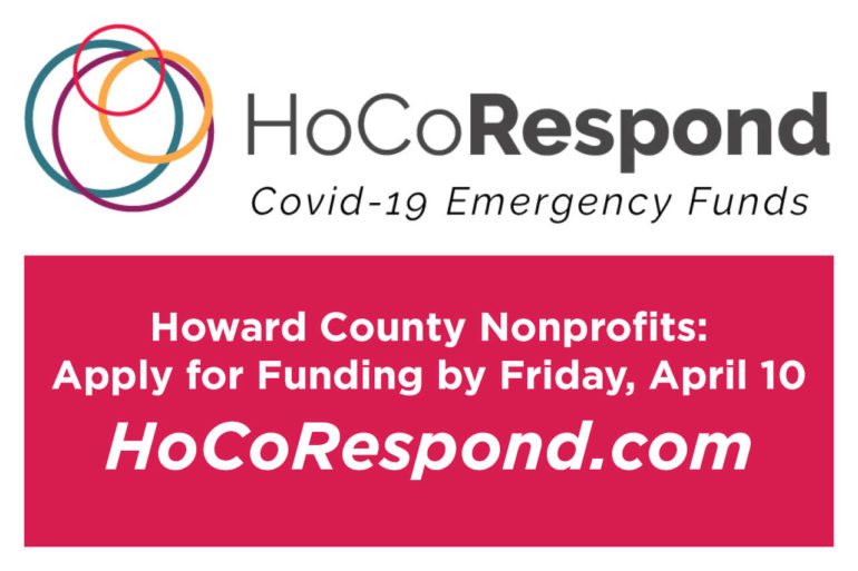 HoCoRespond COVID-19 Emergency Funds Available to Howard County Nonprofits