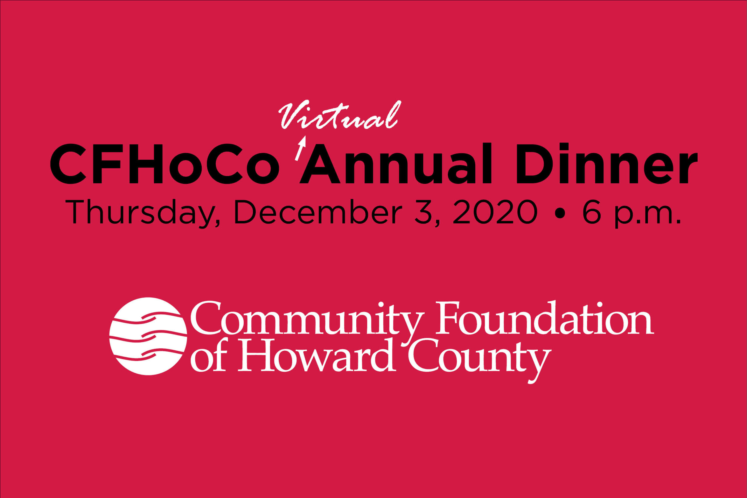 CFHoCo Celebrates Philanthropy at the Virtual Annual Dinner